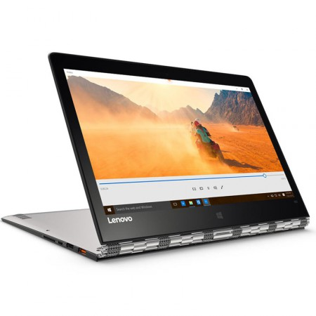 "Ноутбук Lenovo IdeaPad Yoga 900-13ISK2 (Core i7 6560U 2200 Mhz/13.3""/3200х1800/8Gb/256Gb/DVD нет/Intel HD 540/Wi-Fi/Bluetooth/Silver) фото 1"