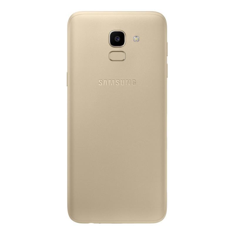 Смартфон Samsung Galaxy J6 (2018), золотой  фото