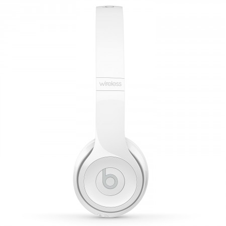 Наушники Beats Solo3 Wireless Gloss White фото 1