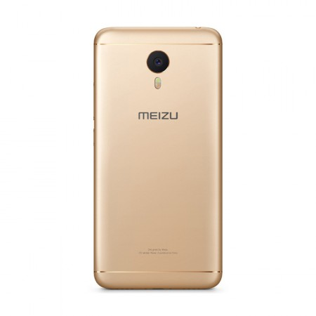 Смартфон Meizu M3 Note 32Gb Gold фото 2