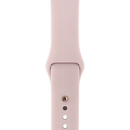 Умные часы Apple Watch S3 GPS 38mm Gold Aluminium Case with Pink Sand Sport Band (MQKW2) фото 3