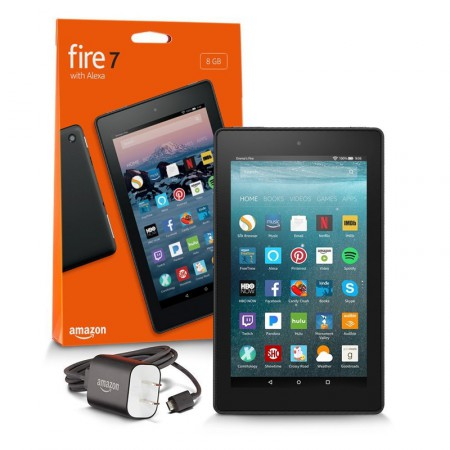 Планшет Amazon Kindle Fire HD 8 with Alexa, 2017, 16Gb фото 7