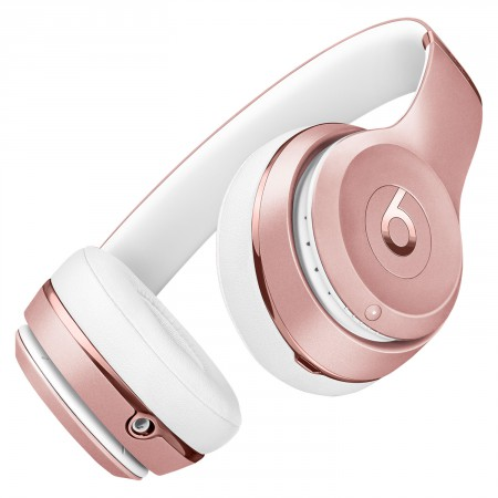 Наушники Beats Solo3 Wireless Rose Gold фото 3