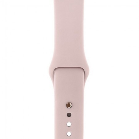 Умные часы Apple Watch S3 GPS+Cellular 42mm Gold Aluminium Case with Pink Sand Sport Band (MQK32) фото 3