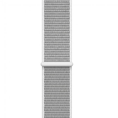 Умные часы Apple Watch S3 GPS+Cellular 42mm Silver Aluminum Case with Seashell Sport Loop (MQK52) фото 3