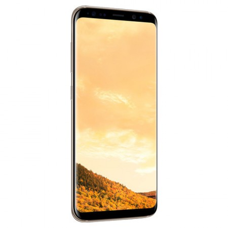 Смартфон Samsung Galaxy S8 64Gb G950, Желтый топаз фото 1