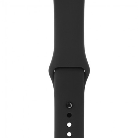 Умные часы Apple Watch S3 GPS 38mm Space Gray Aluminium Case with Black Sport Band (MQKV2/MTF02) фото 3