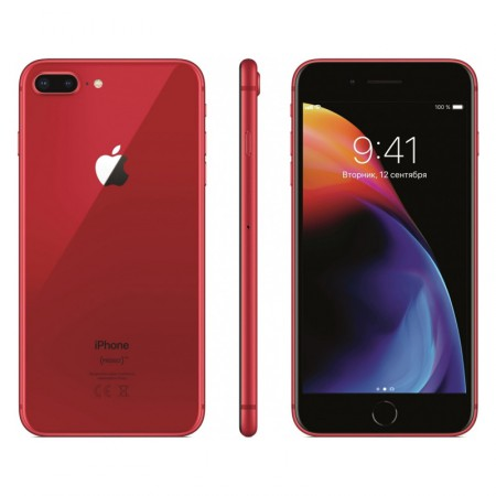 Смартфон Apple iPhone 8 256Gb Plus (PRODUCT)RED™ Special Edition фото 1