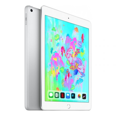 "Планшет Apple iPad 9.7"" 2018 128Gb Wi-Fi Silver фото 2"
