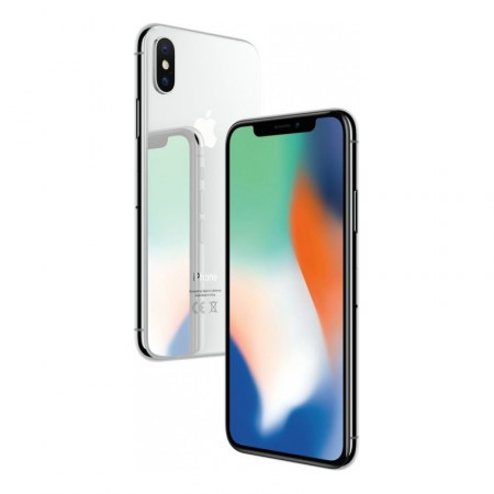 Смартфон Apple iPhone X 64 Silver фото 4