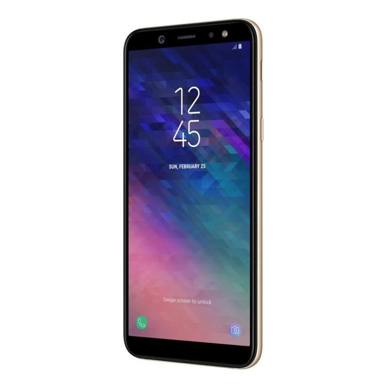 Смартфон Samsung Galaxy A6 (2018), золотой  фото