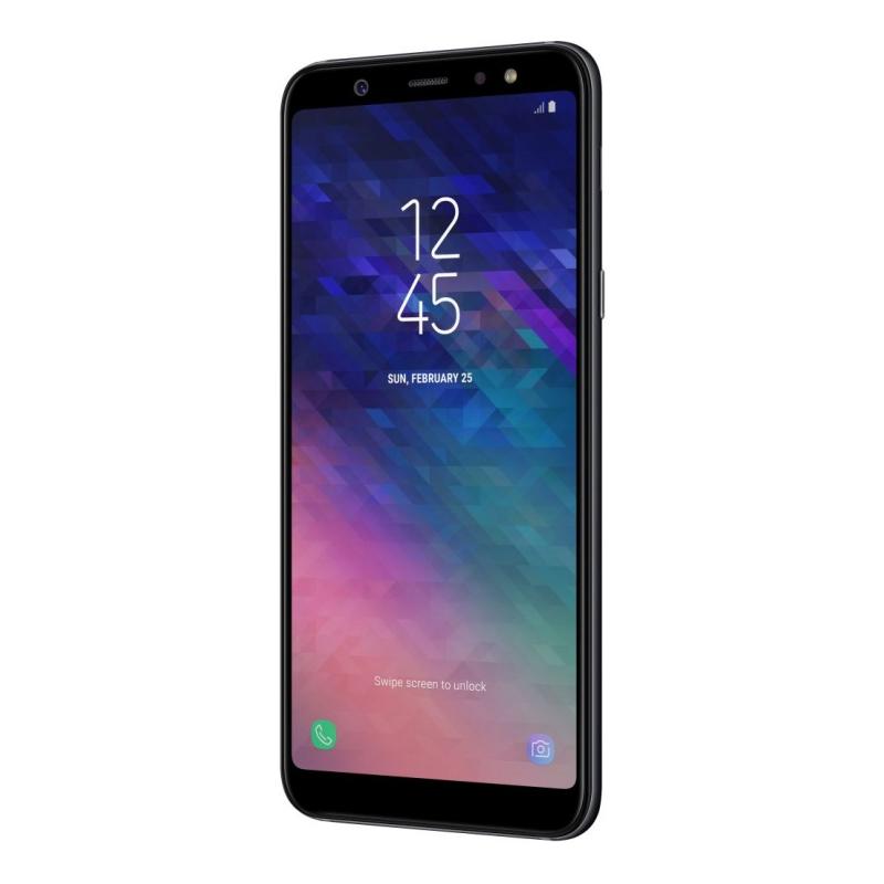 Смартфон Samsung Galaxy A6+ (2018), черный  фото