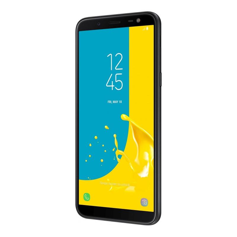 Смартфон Samsung Galaxy J6 (2018), черный  фото