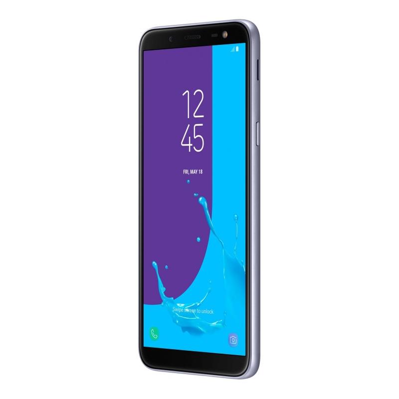 Смартфон Samsung Galaxy J6 (2018), серый  фото
