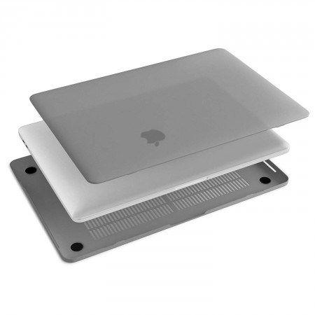 Защитная накладка HardShell Case for MacBook Pro 15/16 (A1707), Gray фото 4