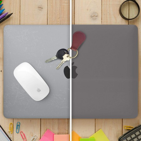 "Защитная накладка HardShell Case for MacBook Air 13"" (A1932), Gray фото 1"