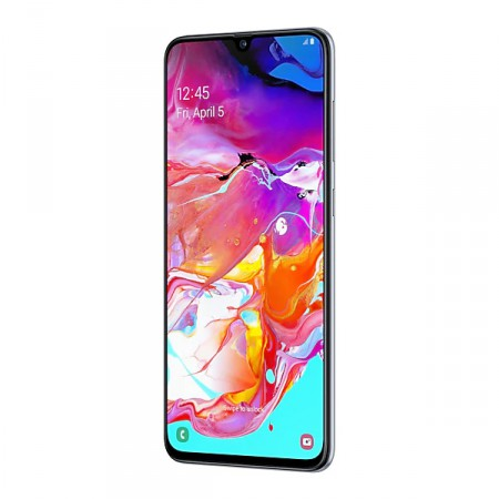 Смартфон Samsung Galaxy A70 (2019) 128Gb White фото 3