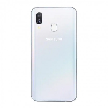 Смартфон Samsung Galaxy A40 (2019) 64Gb White фото 1