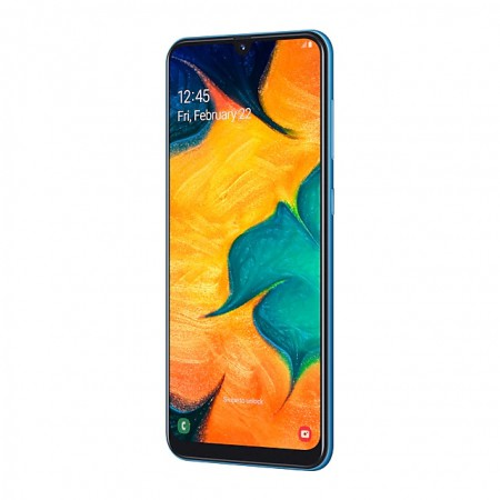 Смартфон Samsung Galaxy A30 (2019) 32Gb Blue фото 4
