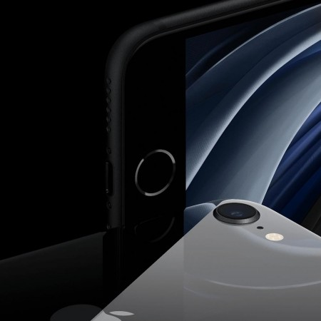 Смартфон Apple iPhone SE (2020) 128GB Черный фото 1