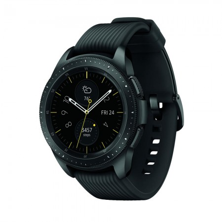 Умные часы Samsung Galaxy Watch (42 mm) midnight black/onyx black (Черные) фото 2