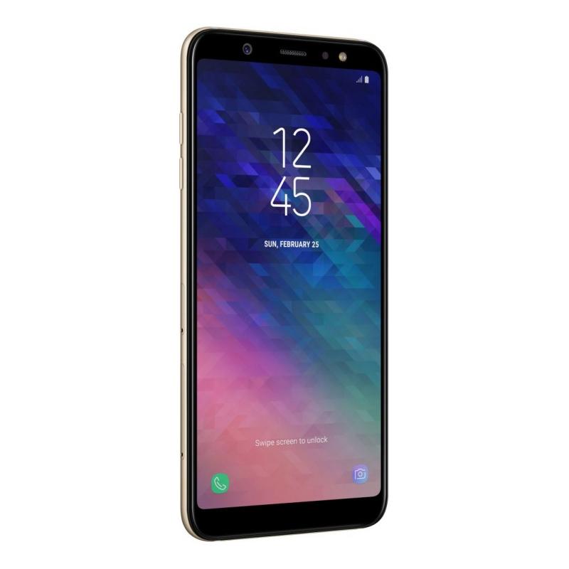 Смартфон Samsung Galaxy A6+ (2018), золотой  фото