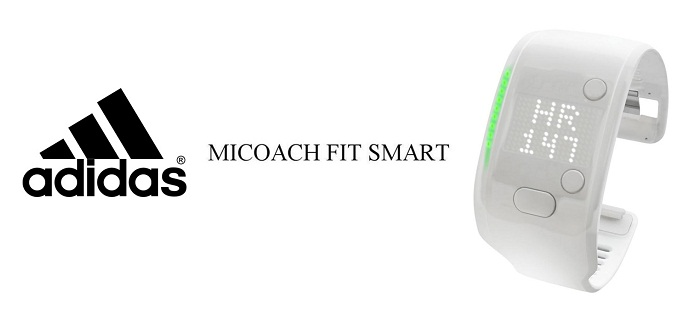 Браслет Adidas miCoach Fit Smart White L (Large)  фото