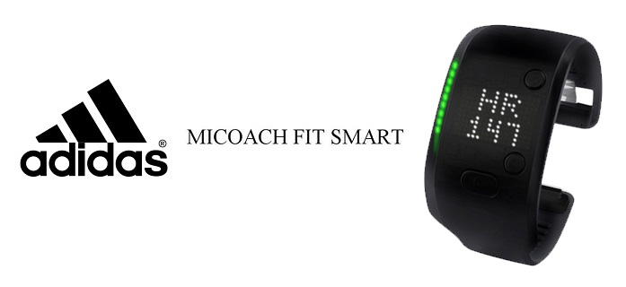 Браслет Adidas miCoach Fit Smart Black S (Small)  фото