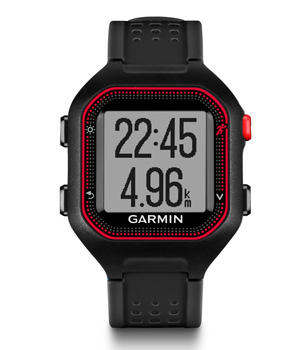 Часы Garmin Forerunner 25 GPS Black/Blue  фото