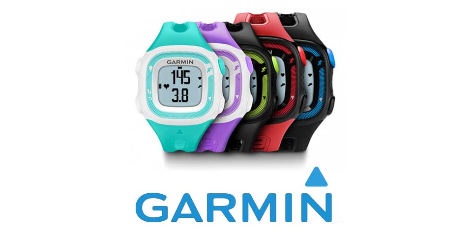 Часы для бега Garmin Forerunner 15 GPS Black/Green  фото