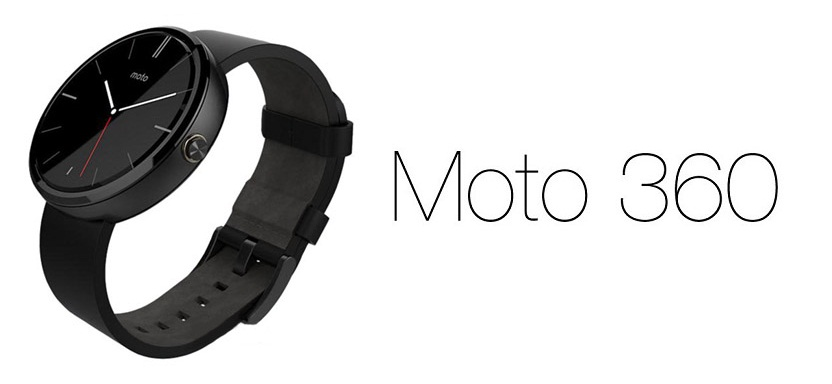 Умные часы Motorola Moto 360 Black Leather  фото
