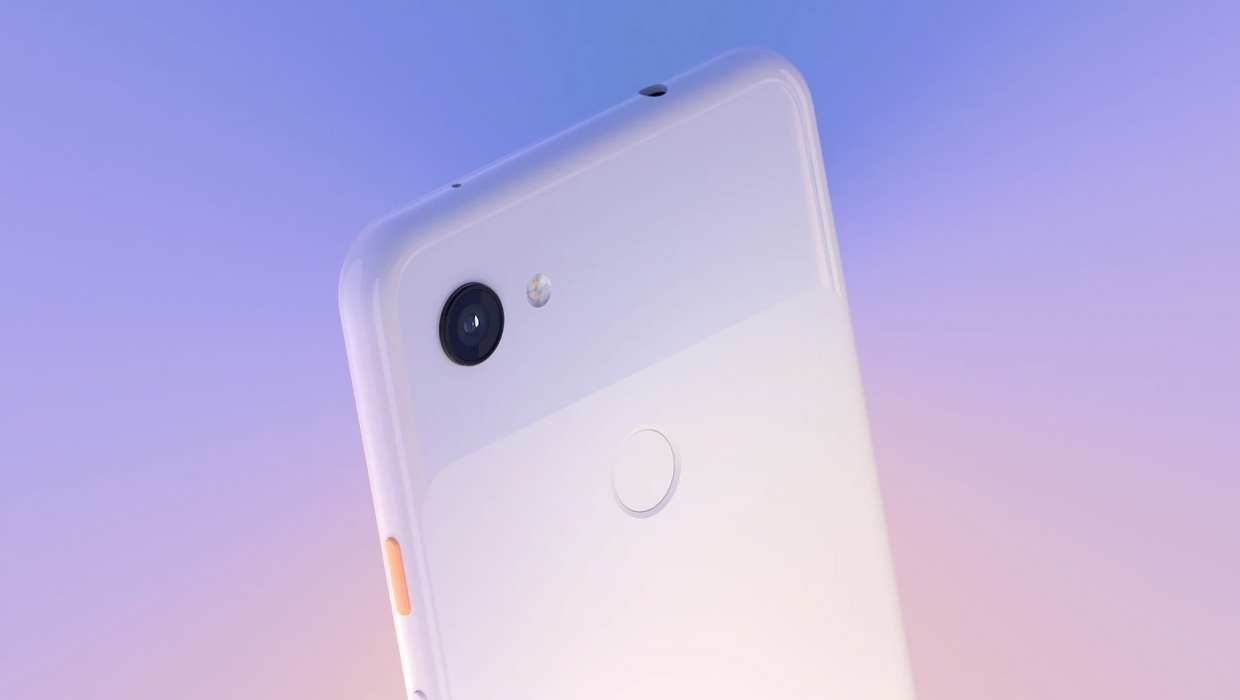 Смартфон Google Pixel 3a 64Gb Clearly White  фото