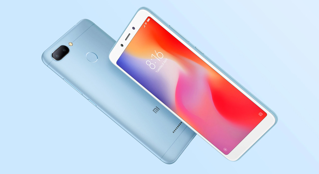 Смартфон Xiaomi Redmi 6 3/32GB Black  фото