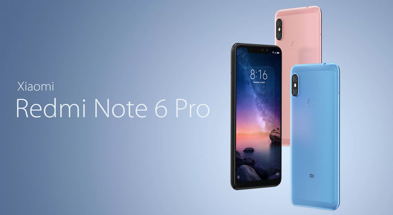 Смартфон Xiaomi Redmi Note 6 Pro 4/64GB Rose Gold  фото