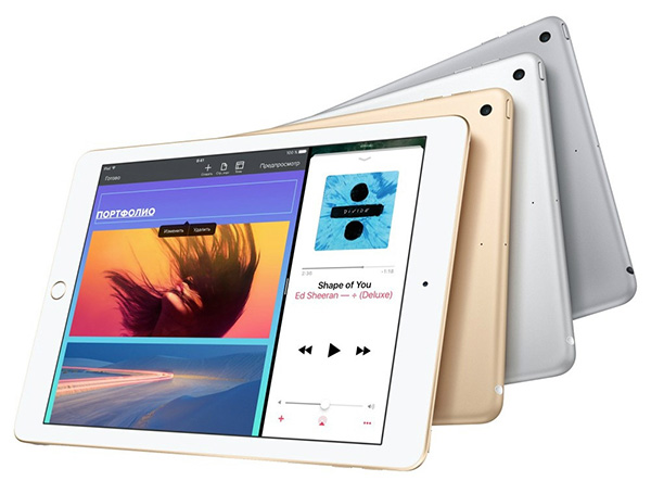 "Планшет Apple iPad 9.7"" 128Gb Wi-FI Silver  фото"