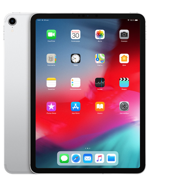 Планшет Apple iPad Pro 11 2018 256Gb Wi-Fi Silver  фото