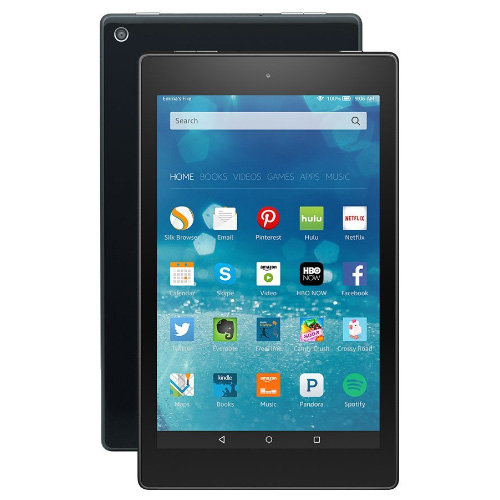 Планшет Amazon Kindle Fire HD 8 with Alexa, 2017, 16Gb  фото