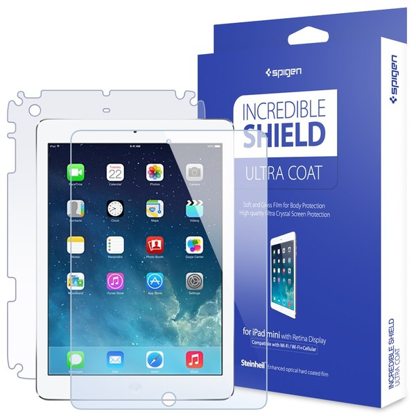 Пленка SGP iPad Mini Screen and Body Protector Incredible Shield Ultra Coat  фото