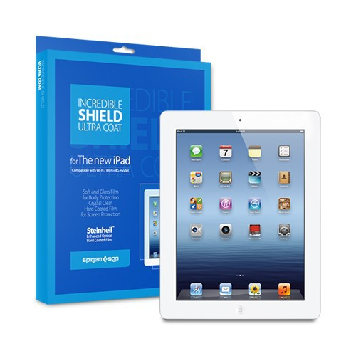 Пленка SGP The new iPad 4G LTE / Wifi Incredible Shield Series (Ultra Coat)  фото