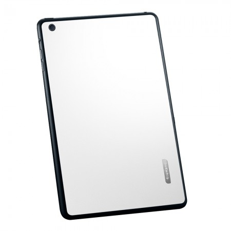 Пленка iPad Mini Skin Guard Set ( Leather pattern white)  фото