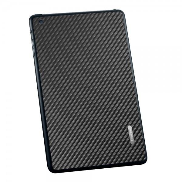 Пленка iPad Mini Skin Guard Set (Carbon pattern black)  фото