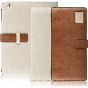 Чехол Craft Plus Collection для New iPad (Brown/Canvas)  фото