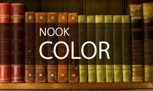 Электронная книга Barnes & Noble Nook Color  фото