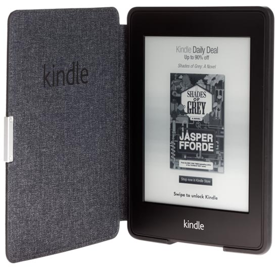 Чехол Amazon Kindle Paperwhite Leather Cover Royal Purple  фото