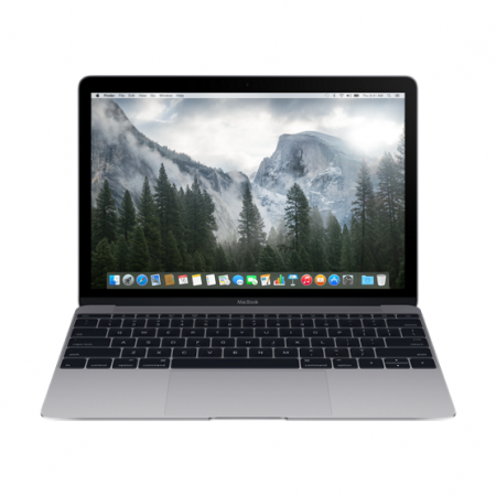 "Ноутбук Apple MacBook 12"" MJY32LL/A (Dual-Core Intel Core M 1.1GHz/8GB/256GB/HD Graphics 5300/Space Gray)"