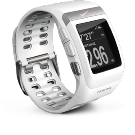 Nike Sport Watch GPS White (Белый)